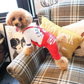 犬 犬服 小型犬 パンツ スエットパンツ サスペンダーつき スエットロゴパンツ
