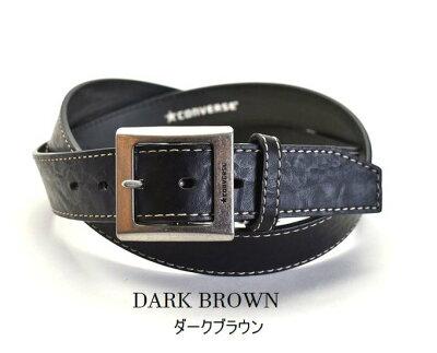 コンバースベルトメンズキングサイズ(130)ビジネス合成皮革/cv0903kLBLACK/DARKBROWN/BROWNブラック/ダークブラウン/ブラウン