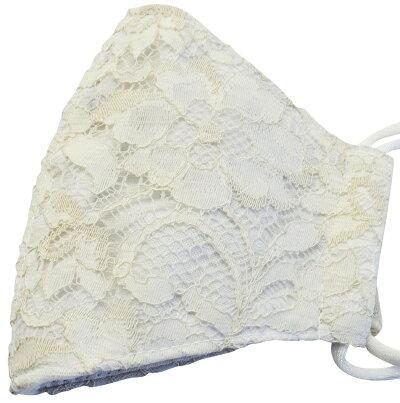 布マスクコットン立体洗える日本製エコおしゃれホワイトベージュシンプル先端スペースあり呼吸がしやすい立体マスクmas-4-beige