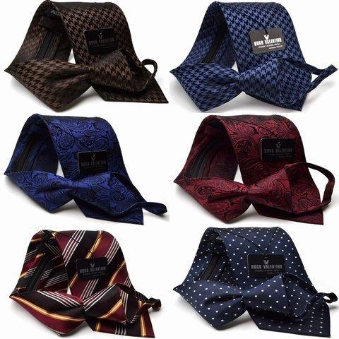 【春物入荷】ワンタッチ ネクタイ シルク らくらくネクタイ/【HUGO VALENTINO】ギフト/クイックネクタイ/ silk necktie ファスナー付きジャガードネクタイ