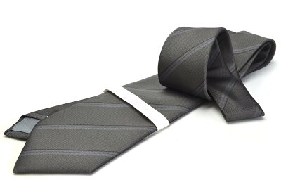 礼装ネクタイ【LA-402】グレー/フォーマル/法事用/ポリエステル05P03Sep16