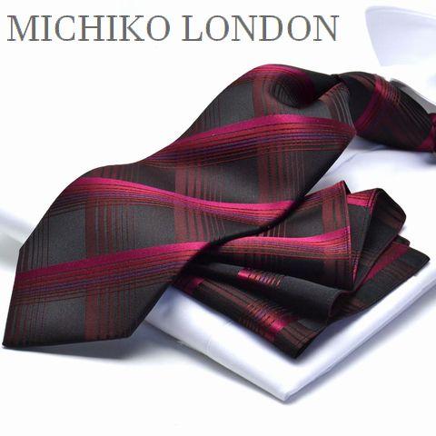 【冬物入荷】ネクタイ ブランド MICHIKO LONDON MHT-78日本製 シルク