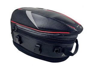 バイク用 オリジナルデザイン 炭素繊維 拡張機能あり 防水 耐久性 タンクバッグ シートバッグ 多用性
