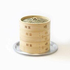 照宝 中華せいろ 竹製 蒸し板セット φ18cm【RCP】【店頭受取対応商品】