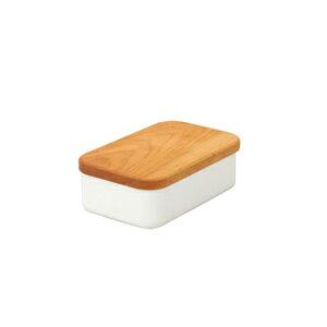 野田琺瑯 バターケース 200g用【RCP】【日本製】【店頭受取対応商品】