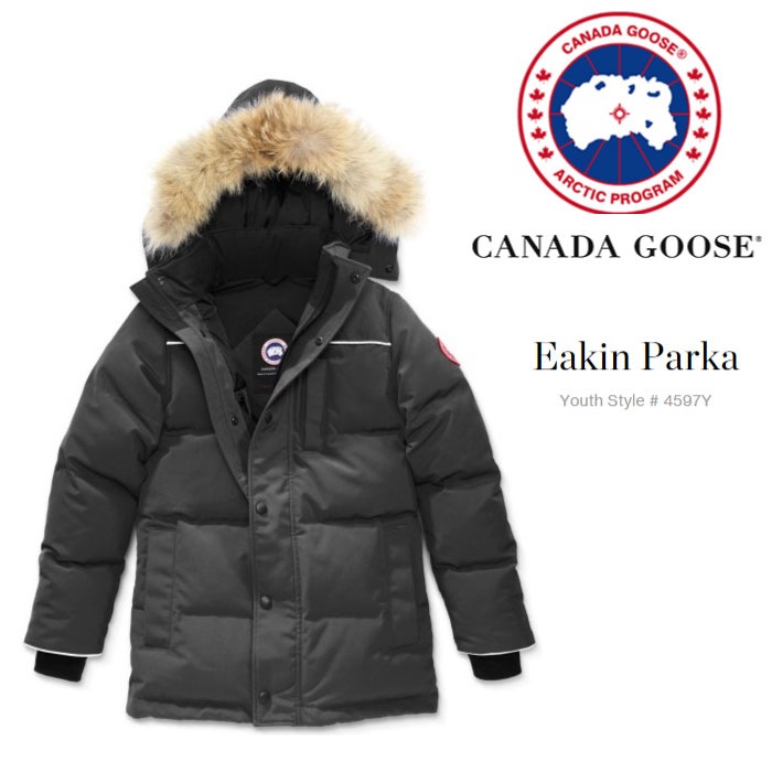 カナダグース キッズ 4597Y Eakin Parka