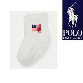 ラルフローレン 靴下 ベビー ソックス USA国旗