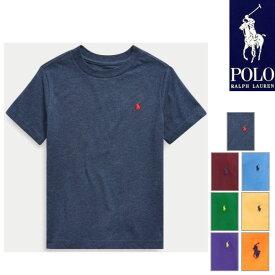 ラルフローレン Tシャツ キッズ 半袖 ワンポイント刺繍