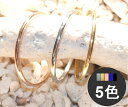 新商品 ステンレスリング 指輪 細身 甲丸 ステンレス ゴールド シルバー ピンクゴールド ブルー ブラック
