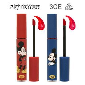 NEW 限定版 スタイルナンダ 3CE ミッキーマウス タトゥー リップ ティント 各3.8g 2色