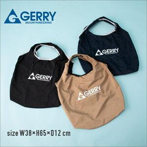 GERRY ジェリー エコバッグ ショッピングバッグ 買い物バッグ トートバッグ スイムバッグ スイミングバッグ プールバッグ バック コンパクト 軽量 折りたたみ 収納可能 大容量 マチ広め 内ポ