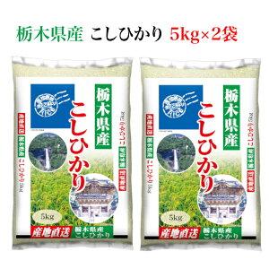 <とちぎの美味しいお米 栃木県産コシヒカリ 10kg> 全国産地厳選米お届け