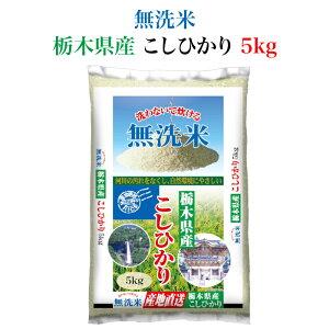 <とちぎの美味しいお米 無洗米 栃木県産 コシヒカリ5kg> 全国産地厳選米お届け