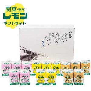 関東・栃木レモン レモン牛乳シリーズギフトセット15本[栃木県産品 栃木市]