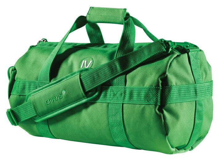 【訳あり】アウトレット【GRAVIS】DUAL MEDIUM  09FW GREEN 自転車 バッグ ドラムバッグ カバン 鞄 通勤通学
