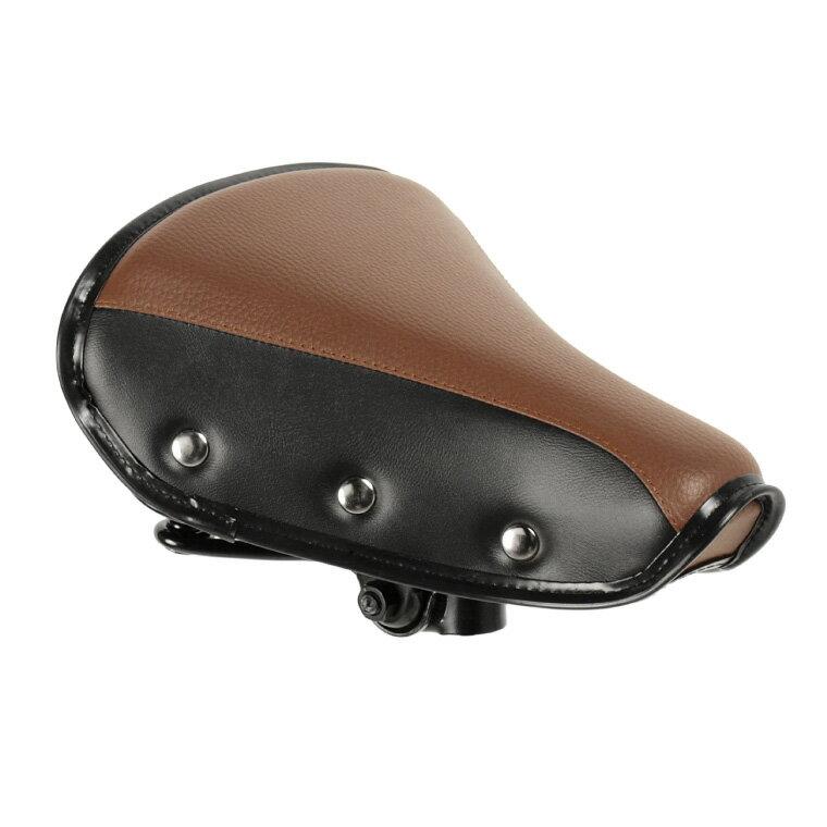 自転車 サドル a.n.d シティサイクル・一般車用テリーサドル a.n.design works ブラウン