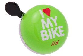 ★マラソン中ずっとPアップ★ 自転車 ベル アイテム Liix リークス ミニディンドンベル アイ ラブ マイ バイク Mini Ding Dong Bell I Love My Bike 自転車用ベル ポイント10倍