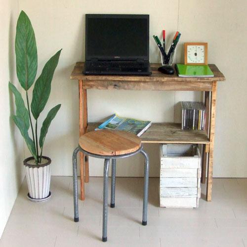 【送料無料】リサイクルウッド コンソールテーブル 2 コンソール 木製テーブル 飾り棚 キャビネット キッチン収納 リビングシェルフ ラック 収納棚 整理棚 天然木 無垢 アンティーク風 テーブル アンティーク風