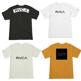10%OFF RVCA Tシャツ メンズ レディース クルーネック トップス ブラック ゴールド カーキ S M L ルカ ルーカ