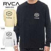 RVCAロンT長袖rvcaロゴバックプリントBA04-050インナーメンズレディースサーフィンスケートボード