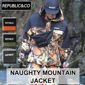 20-21 REPUBLIC&CO リパブリック スノーウェア ジャケット NAUGHTY MOUNTAIN JACKET ノーティー マウンテンジャケット メンズ アウトドア タウンウェア