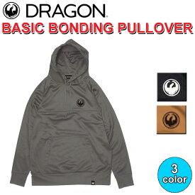 DRAGON ドラゴン BASIC BONDING PULLOVER プルオーバー パーカー メンズ SNOW【あす楽対応】