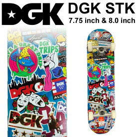 DGK デッキ ディージーケー スケートボード コンプリート STK [D-103] [D-104] 完成品 スケボー SKATE BOARD COMPLETE【あす楽対応】