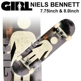 GIRL ガール スケートボード コンプリート NIELS BENNETT ニールス・ベネット [GL-129] [GL-130] 完成品 スケボー SKATE BOARD COMPLETE【あす楽対応】