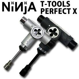 NINJA [ニンジャ] スケートボード 工具 T TOOLS PERFECT X [ツール パーフェクト テン] 10機能付き 2カラー 【あす楽対応】