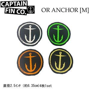 CAPTAIN FIN キャプテンフィン ステッカー ORIGINAL ANCHOR [M] アンカー 4枚1セット【あす楽対応】