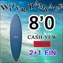 [即出荷可能] [送料無料] WATER RAMPAGE ウォーターランページ サーフボード CASH-YEW 8'0 ファンボード ソフトボード…