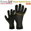 マジック MAGIC 20-21 Royal Hybrid Glove 4mm ロイヤル ハイブリッド グローブ MAIDE IN JAPAN 日本製 サーフィ...