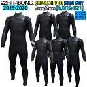 19-20 BILLABONG ビラボン セミドライ ウェットスーツ ウエットスーツ チェストジップ 5×3ミリ 秋冬用 メンズモデル …