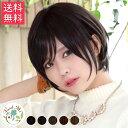 ウィッグ ショート「ビスケショート」 総手植え 送料無料 日本製ファイバー使用 小顔効果抜群のショートスタイル 全5色