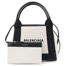 バレンシアガ BALENCIAGA バッグ NAVY CABAS XS カバス ハンドバッグ 2way ショルダーバッグ キャンバス ナチュラル×ブラック (390346 2HH3N 9260 NATURAL/BLACK)【あす楽対応】