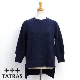タトラス TATRAS レディース ヴィコ VICO 八分袖カットソー トップス ネイビー (LTA17A8536 79 NAVY)