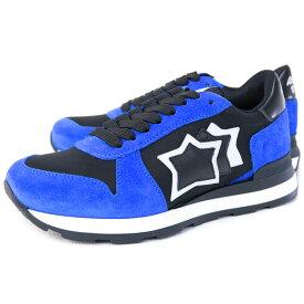 アトランティックスターズ Atlantic STARS 靴 レディース スニーカー ブルー×ブラック (GAMMA NF-10N NERO)