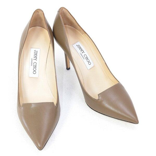ジミーチュウ JIMMY CHOO 靴 レディース パンプス トープ (ALIA SHINY CALF TAUPE)【あす楽対応】