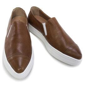 【在庫一掃セール】 デザイン マニファトゥーラ design manifattura 靴 レディース OSAKA スニーカー スリッポン ブラウン (1133 VITELLO ROUGE TAN)【あす楽対応】