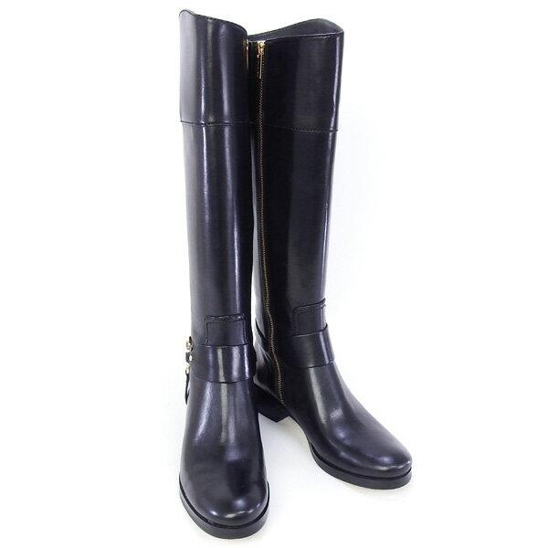 2015秋冬 マイケル マイケルコース MICHAEL MICHAEL KORS 靴 FULTON HARNESS BOOT ロングブーツ ブラック (40F2FHFB5L BLACK)