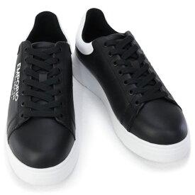 2020年秋冬新作 エンポリオアルマーニ EMPORIO ARMANI 靴 メンズ スニーカー ブラック×ホワイト (X4X264 XM552 N300 BLACK/MILANO+WHITE)