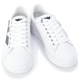 2020年秋冬新作 エンポリオアルマーニ イーエーセブン EMPORIO ARMANI EA7 靴 メンズ スニーカー ホワイト×ネイビー (X8X001 XK124 B139 WHITE+NAVY)