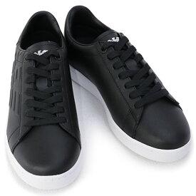 2020年秋冬新作 エンポリオアルマーニ イーエーセブン EMPORIO ARMANI EA7 靴 メンズ スニーカー ブラック (X8X001 XCC51 00002 BLACK)