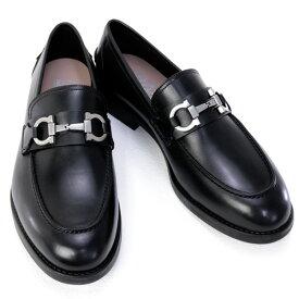 サルバトーレ フェラガモ Salvatore Ferragamo 靴 メンズ ガンチーニ ビジネスシューズ ローファー ブラック (ARLIN 0704229 NERO)