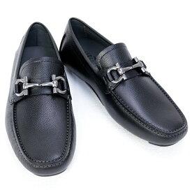 サルヴァトーレ フェラガモ Salvatore Ferragamo 靴 メンズ ガンチーニ ドライビングシューズ ブラック (PARIGI 0671739 NERO)【あす楽対応】