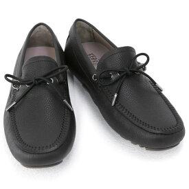 サルバトーレ フェラガモ Salvatore Ferragamo 靴 メンズ ガンチーニ ドライビングシューズ ローファー ブラック (RHETT 0735497 NERO)【あす楽対応】