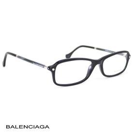バレンシアガ BALENCIAGA レディース メガネフレーム スクエア ブラック (BA5016 001 BK)