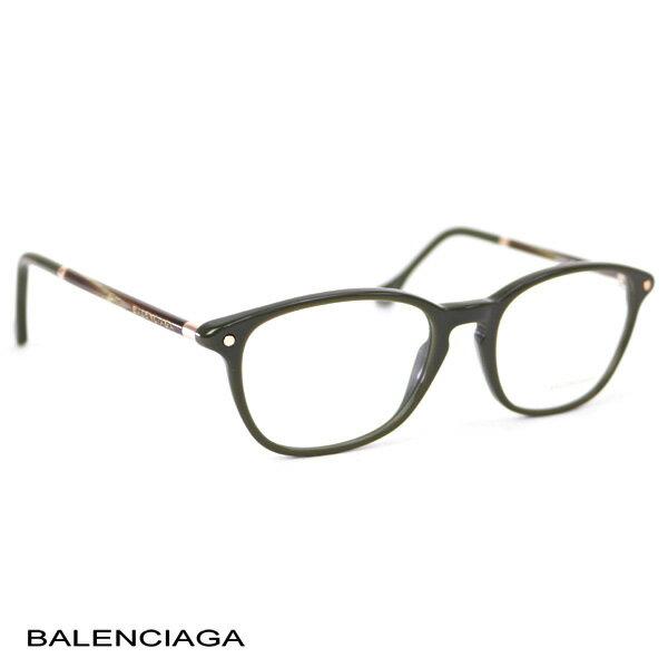 バレンシアガ BALENCIAGA レディース メガネフレーム カーキ (BA5017 096 KHA)【あす楽対応】