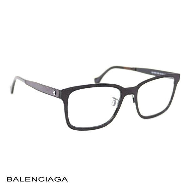 バレンシアガ BALENCIAGA レディース メガネフレーム ダークブラウン (BA5055 005 DB)【あす楽対応】