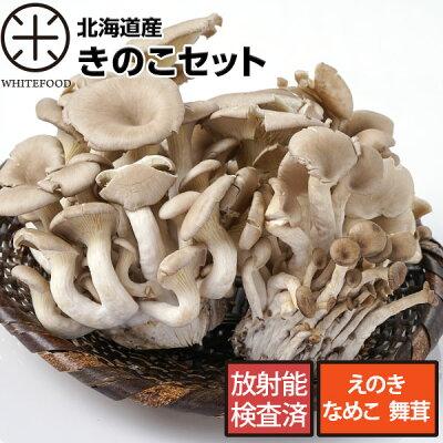 【送料無料】北海道愛別産きのこセット【放射能検査済】